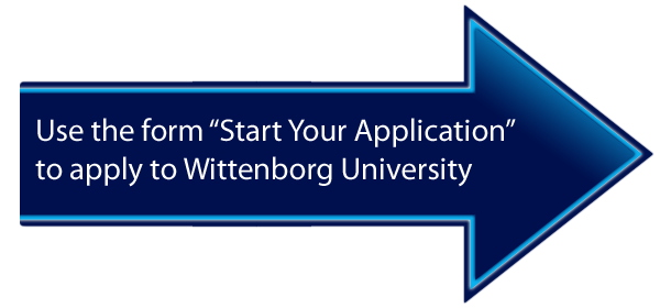 "Use the form ""Start Your Application"" to apply to Wittenborg University"