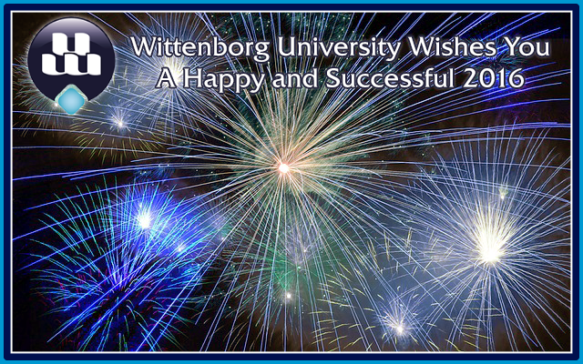 Wittenborg University wishes you a happy and successful 2016!