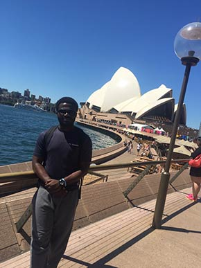 Hello Australia! Wittenborg Student, Reynolds Boateng, Shares his Internship Experience from Down Under
