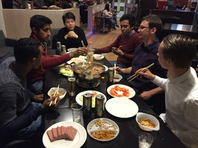 Wittenborg's International Students Bridge Cultural Gap While Enjoying Great Food at Chinese Cuisine Evening