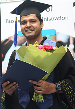 "Graduate from Nepal Impresses With ""Knock-Out"" Dissertation and Determination"