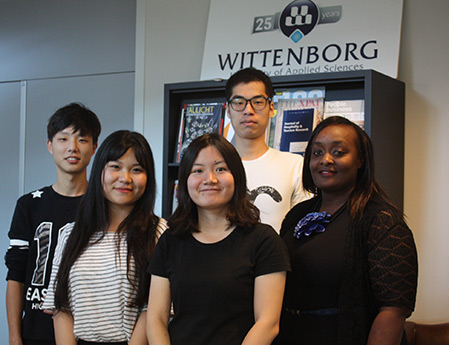 Shanghai Students Enjoying Summer School Experience at Wittenborg