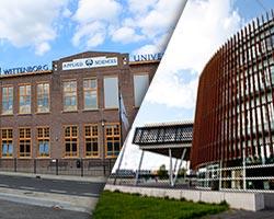 Wittenborg University Main Campus Apeldoorn - Aventus Building & Spoorstraat Building
