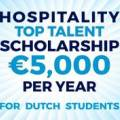 Scholarship for Dutch Hospitality Students