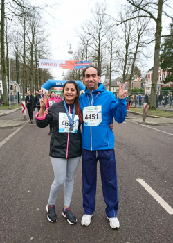Students and Staff Brave Cold for Apeldoorn Marathon