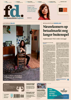 Wittenborg CEO, Maggie Feng, in Financieele Dagblad