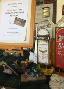 'Whisky Burn' Goes to Vespa World Days in Belfast