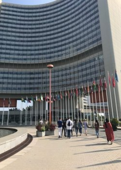 Wittenborg Vienna Students Visit UN Office