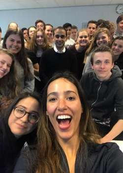KSG Apeldoorn High School Visits Wittenborg University to Discuss Cultural Diversity