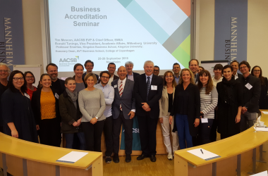 Wittenborg VP Co-Presents AACSB Seminar