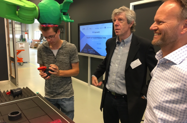 Wittenborg's Robotics Partnership a Big Success
