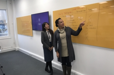 WUAS staff pay a working visit to University of Brighton
