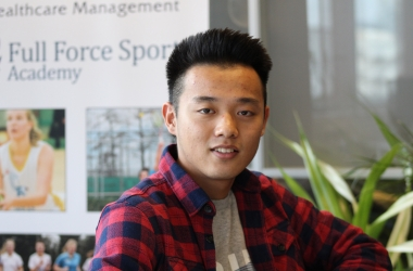 South Korean Student goes from French Football Club, Lyon, to Wittenborg