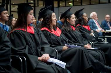 Johan Kruithof Cites #metoo Campaign as he Urges Graduates to Use Their Voices as Social Activists and Change the World