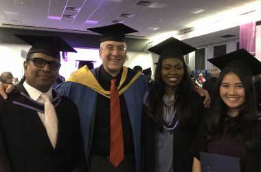 Wittenborg MSc Graduates Receive Degrees from Brighton University