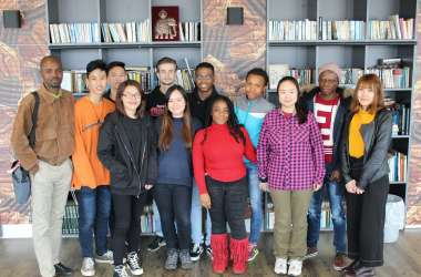 New Students from 14 Countries