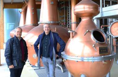 'Start-up' and 'Started-up' sum up an exhilarating day visiting two remarkable distilleries just outside Dublin