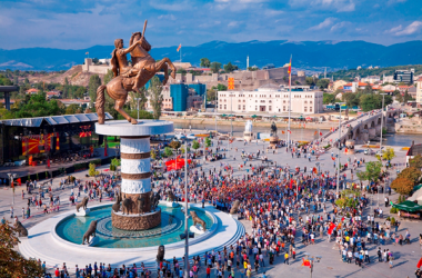 Tim Birdsall on Presentation Skills in Macedonia