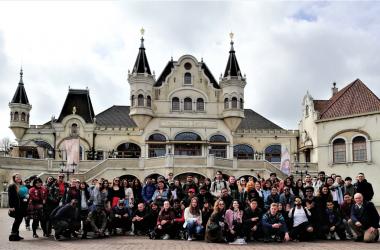 Wittenborg's students visit the Efteling Theme Park