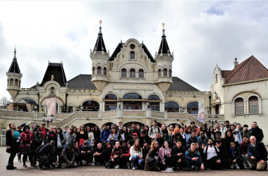Wittenborg's students visit the Efteling Theme Park