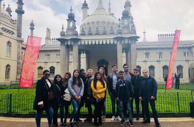 MSc Students Make Trip to UK