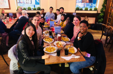 MSc Students Make Trip to UK