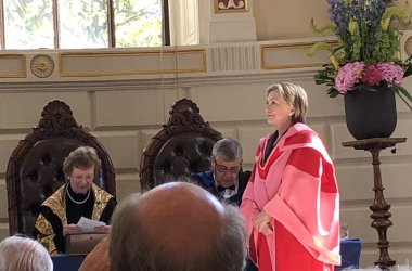 Hillary Clinton Guest Speaker as Wittenborg Lecturer gets PhD