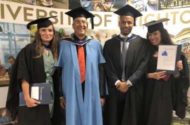 Wittenborg Amsterdam Business School Students also Graduate at University of Brighton!