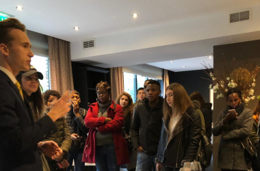 Students Learn about Sustainability in Hospitality Industry at 5-Star Apeldoorn Hotel
