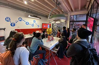 Wittenborg Amsterdam Students Visit Famous Chocolate Factory