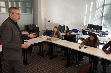 Student Representatives Air Concerns to Wittenborg Executive