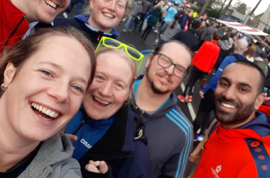 Students and Staff Fly Wittenborg Flag at Apeldoorn Marathon