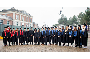 Joy and Gratitude  at Wittenborg's 2019 Winter Graduation Ceremony