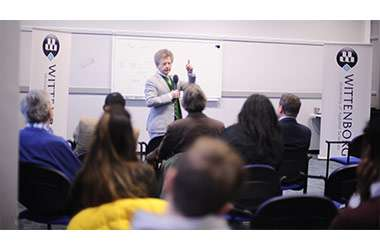 D66's Michiel Scheffer Guest Speaker at Wittenborg Seminar on Brexit