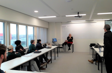 Serial Entrepreneur Dr Melody Sauerborn Guest Lectures at Wittenborg Amsterdam
