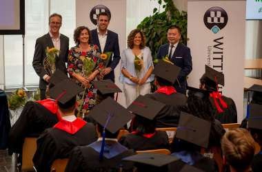 Graduates from 16 Countries at Wittenborg Summer Graduation Ceremony