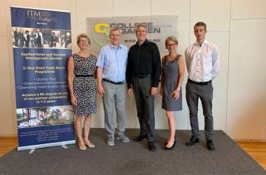 WUAS visits Tourism & Management College in Austria
