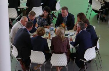 Wittenborg CEO, Maggie Feng, Meets Dutch Queen, Máxima