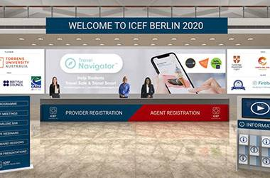 Agents at ICEF Berlin 2020 Confident COVID-19 Will Not Slow Down Recruitment of International Students