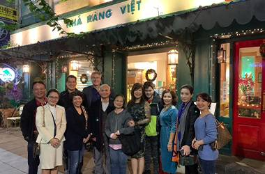Meeting up with Alumni in Vietnam