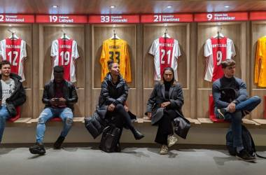 Wittenborg Amsterdam Students Visit Home of Football Club Ajax