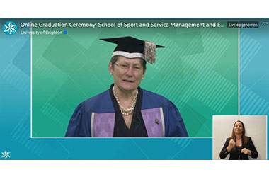 University of Brighton Celebrates Graduates in Online Ceremony