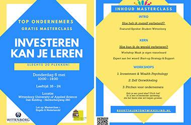 Wittenborg Entrepreneurial Students to Host 'Top Entrepreneurs' Free Masterclass in Amsterdam