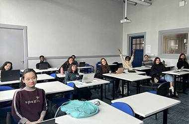 Wittenborg Students Warming-up to In-Class Sessions