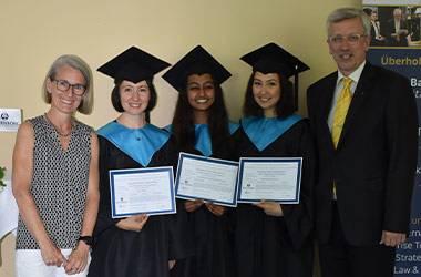 Wittenborg Celebrates First Graduates from Austria