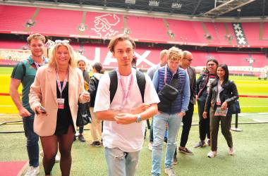 Wittenborg Amsterdam Students Visit Home Ground of Dutch Football Club Ajax