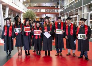 6 Graduation Moments a Year at Wittenborg University of Applied Sciences