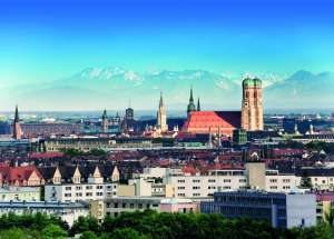 Munich, the home of New European College.