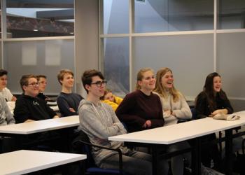 KSG Apeldoorn High School Visits Wittenborg University to Discuss Cultural Diversity