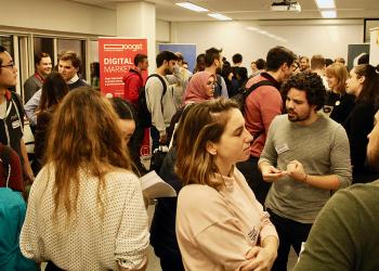 Hundreds Attend Amsterdam Tech Job Fair at Wittenborg Amsterdam